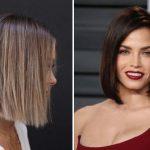 23 dögös félhosszú frizura egyenes hajból