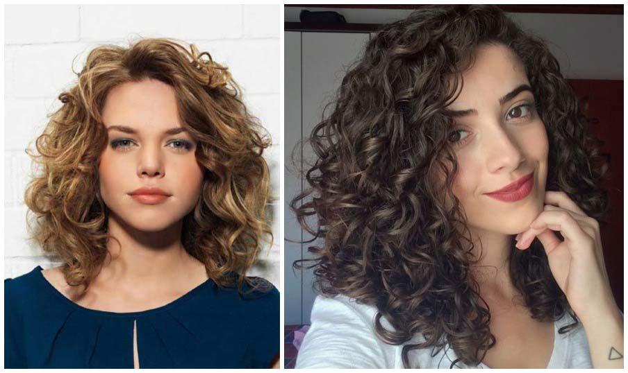 Félhosszú göndör haj: áldás vagy átok? Attól függ, milyen frizura készül belőle!