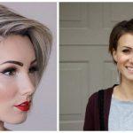 A legkülönlegesebb aszimmetrikus rövid és félhosszú frizurák