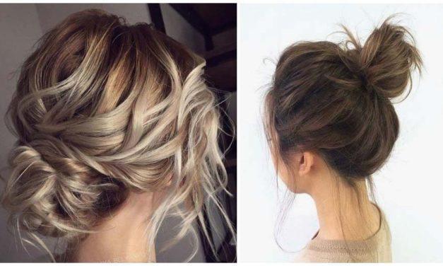 Valami újra vágysz? Csinálj laza kontyot félhosszú hajadból!