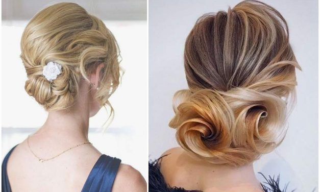 Esküvői kontyok félhosszú hajból – Klasszikus de mégis trendi