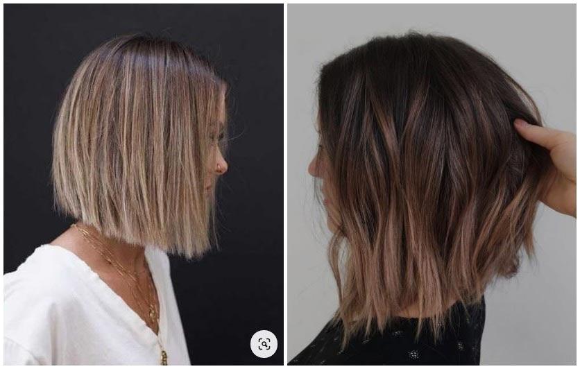 9+1 rövid ombre frizura, hogy legyen miből válogatni